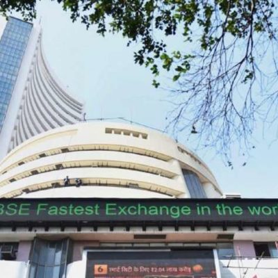 Sensex tanks over 1,000 factors in establishing consultation; Nifty at 8,389.30