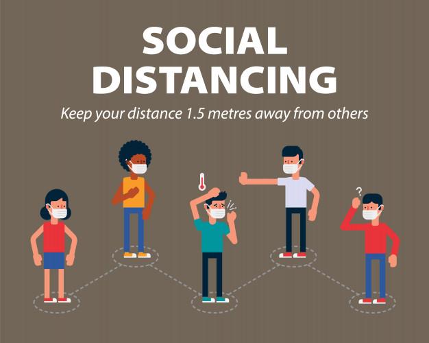 keep Social distancing